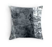 Leave your Mark Throw Pillow