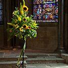 Canterbury Tales - Sunflowers. by DonDavisUK