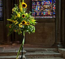 Canterbury Tales - Sunflowers. by DonDavisUK