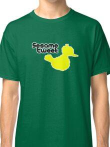 Sesame Tweet - Black Text Classic T-Shirt