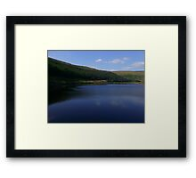 Dove Stone's, in the blue!  Framed Print