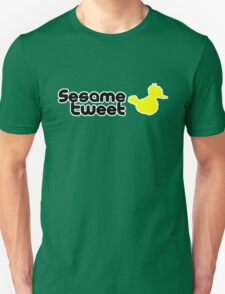 Sesame Tweet - Black Text V.2 Unisex T-Shirt