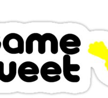 Sesame Tweet - Black Text V.2 Sticker