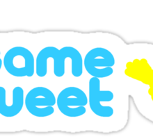Sesame Tweet - Blue Text V.2 Sticker