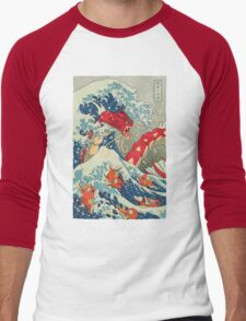 The Great Red Wave Men's Baseball ¾ T-Shirt