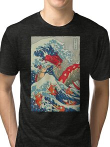 The Great Red Wave Tri-blend T-Shirt