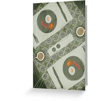 Breakfast for Two Greeting Card