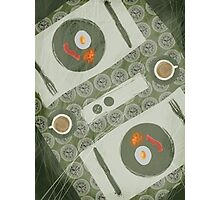 Breakfast for Two Photographic Print