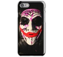 Joker mask iPhone Case/Skin