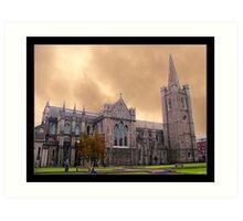 Saint Patrick's Cathedral Art Print
