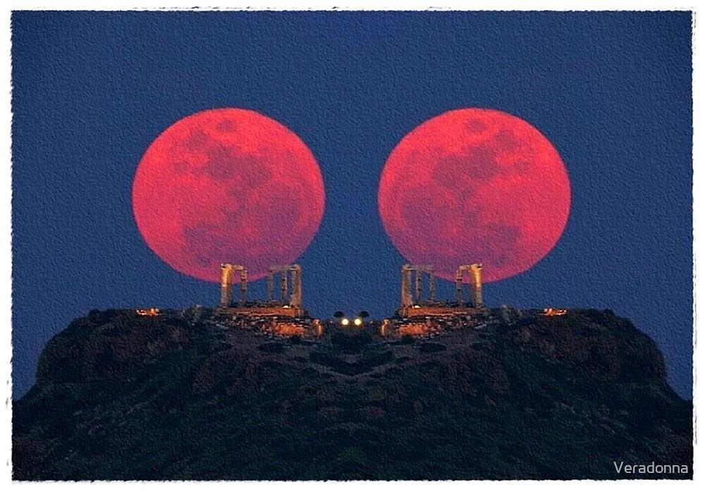 ~  Red Moon Rising ~ by Alexandra  Lexx