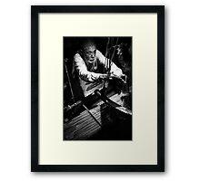 Night weaver Framed Print