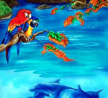 Tropical Lagoon by Kathleen Kelly-Thompson
