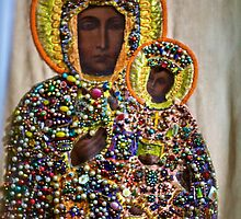 The Black Madonna of Częstochowa. Queen of Poland. Views 1387.  dziękuję  bardzo ! thank you friends ! has been SOLD ! Promotor Fidei. by AndGoszcz