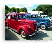 Red & Blue Ford`s  Canvas Print
