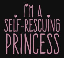 I'm a self-rescuing princess Baby Tee