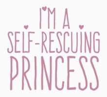 I'm a self-rescuing princess One Piece - Long Sleeve