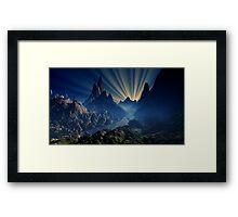 Lost River Sunset - Earthsea Framed Print