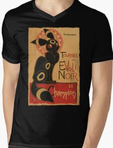 Noir Mens V-Neck T-Shirt
