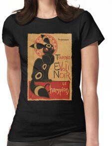 Noir Womens Fitted T-Shirt