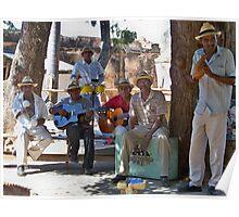 Cuban Band Poster