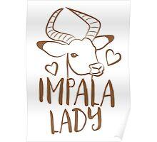 Impala Lady Poster