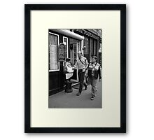 Are you hungry yet?  Framed Print