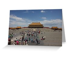 The Forbidden City Greeting Card