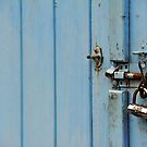 Locked in blue by MWhitham