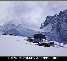 castor , pollux & breithorn by kippis