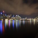 Sydney at Night by Malcolm Katon