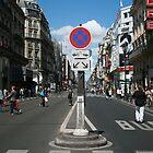 Rue de Rivoli in Paris by danielrp1