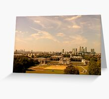 Greenwich Hill Look Out Greeting Card