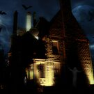 Haunted House by the Light of the Moon by AnnDixon
