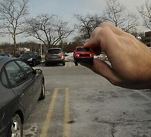 OPTICAL ILLUSION: Parking Lot by Alexander Naylor