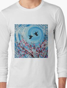 Humming Birds in Love Long Sleeve T-Shirt