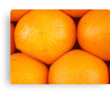 Oranges For Sale in Marrakech, Morocco Canvas Print