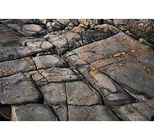 I am a rock Photographic Print