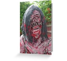 barbie of the dead Greeting Card