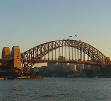 Early Morning at Sydney Harbour Bridge by Sharon Brown