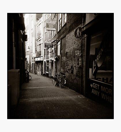{ dim walkway } Photographic Print