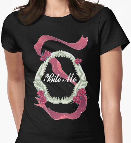 Bite Me - SouRin Womens Fitted T-Shirt