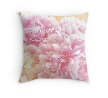 Live with Grace Throw Pillow
