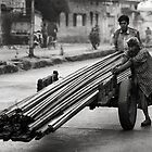 Moving steel by Mark Smart