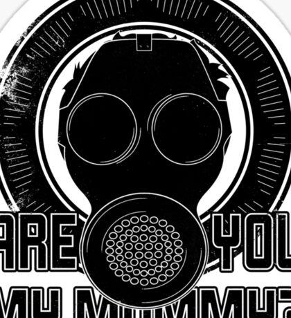 Are You My Mummy? Sticker