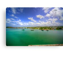 On the Outskirts of Town Canvas Print