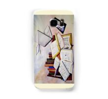 Then and Now Watercolour Painting Samsung Galaxy Case/Skin