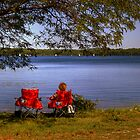 Relaxing at the lake by SPPhotography
