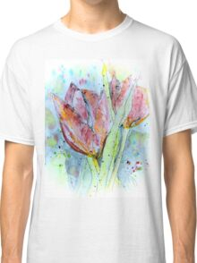 painting with tulips Classic T-Shirt