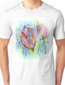 painting with tulips Unisex T-Shirt